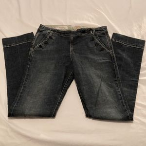 New PILCRO Letterpress Anthro Denim Jeans 29